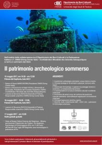 Patrimonioarcheologicosommerso_151617maggio2017